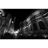 Luxusné vliesové fototapety Cairo - čiernobiele, rozmer 418,5 x 270cm