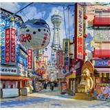 Luxusné vliesové fototapety Yokohama - farebné, rozmer 279 x 270cm