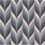 Vliesové tapety na stenu Einfach Schoner 3 retro vzor čierno, sivo, biely
