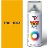 Sprej žltý lesklý 400ml, odtieň RAL 1003 farba signálna žltá lesklá