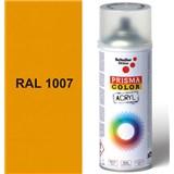 Sprej žltý lesklý 400ml, odtieň RAL 1007 farba chrómovo žltá lesklá