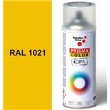 Sprej žltý lesklý 400ml, odtieň RAL 1021 farba kadmiové žltá lesklá