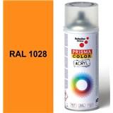 Sprej melónovo žltý lesklý 400ml, odtieň RAL 1028 farba melónovo žltá lesklá