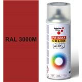 Sprej červený matný 400ml, odtieň RAL 3000M farba červená matná