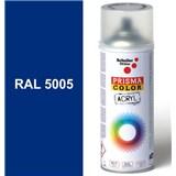 Sprej signálny modrý lesklý 400ml, odtieň RAL 5005 farba signálno modrá lesklá