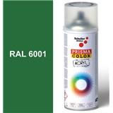 Sprej zelený lesklý 400ml, odtieň RAL 6001 farba smaragdovo zelená lesklá