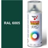 Sprej zelený 400ml, odtieň RAL 6005 farba machovo zelená