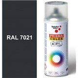 Sprej sivý lesklý 400ml, odtieň RAL 7021 farba čierno sivá lesklá