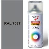 Sprej sivý lesklý 400ml, odtieň RAL 7037 farba sivá prachová lesklá