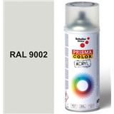 Sprej sivý lesklý 400ml, odtieň RAL 9002 farba bielo sivá lesklá