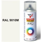 Sprej biely matný 400ml, odtieň RAL 9010 farba biela matná