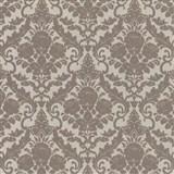 Vliesové tapety na stenu Hypnose zámocký vzor hnedý