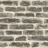 Vliesové tapety na stenu Roll in Stones kamenný múr hnedý