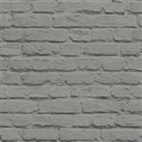 Vinylové tapety na stenu Just Like It kamenný múr šedá