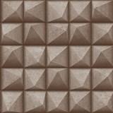 Vliesové tapety na stenu IMPOL Reflets 3D ihlany bronzovo-strieborné