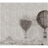 Luxusné vliesové fototapety lietajúce balóny BEZ TEXTU 300 x 270cm