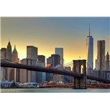 Fototapety Brooklyn Bridge At Sunset, rozmer 366 x 254 cm