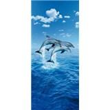 Fototapety Three Dolphins, rozmer 86 x 200 cm