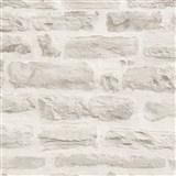 Vliesové tapety IMPOL Wood and Stone 2 ukladaný kameň sivý