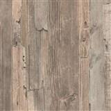 Vliesové tapety IMPOL Wood and Stone 2 drevo vintage hnedé