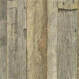 Vliesové tapety IMPOL Wood and Stone 2 vintage style drevo prírodné hnedé