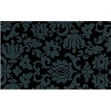 Samolepiace tapety Classic ornament čierny 45 cm x 15 m