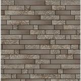 Vliesové tapety na stenu Allure štvorčeky svetlo hnedé a strieborné