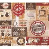 Papierové tapety na stenu Simply Decor Coffee