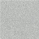 Vliesové tapety na stenu Avalon geometrický vzor sivý
