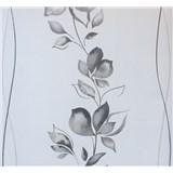 Vliesové tapety na stenu My Feels kvety sivé