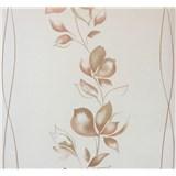 Vliesové tapety na stenu My Feels kvety hnedé