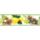 Samolepiace bordúry ovocie žlto-zelené 5 m x 8,3 cm