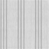 Vliesové tapety na stenu Classico pruhy strieborné na svetlo sivom podklade - POSLEDNÝ KUS