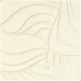 Vliesové tapety na stenu Colani Visions abstraktné listy béžové