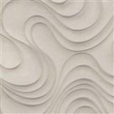 Luxusné vliesové tapety na stenu Colani Evolution vlnovky svetlo hnedé