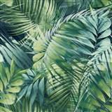 Vliesové tapety na stenu IMPOL Collection Tropical Jungle zelená