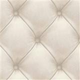Vliesové tapety na stenu Exposed Warehouse imitácia koženky s gombíkmi sivá