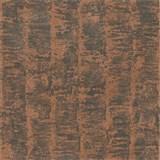 Luxusné vliesové tapety na stenu G.M.Kretschmer Deluxe pruhy medené na sivom podklade