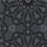 Luxusné vliesové tapety na stenu G.M.Kretschmer Deluxe lesklý medený vzor na sivom podklade