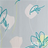 Tapety na stenu Suprofil - kvety tyrkysové