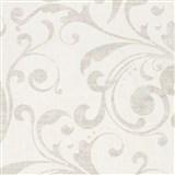 Tapety na stenu La Veneziana - barokový vzor svetlo hnedý