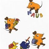 Tapety na stenu Die Maus myška a pratelia idú do školy