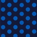 Tapety na stenu Die Maus bodky modré na tmavo modrom podklade