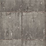 Vliesové tapety IMPOL Instawalls 2 betónové panely hnedo-zlaté