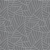 Vliesové tapety na stenu Graphics & Basics linky strieborné na čiernom podklade