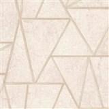 Vliesové tapety na stenu Exposure vápencové dlaždice béžové so zlatými švami