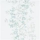Vliesové tapety na stenu G.M.K. Fashion for walls popínavé lístky zeleno-sivé