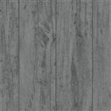 Vliesové tapety na stenu Felicita dosky s výraznou textúrou a perleťovými odlesky čierne