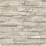 Vliesové tapety na stenu IMPOL Finesse 3D drevo svetlo hnedé