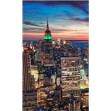 Vliesové fototapety New York mrakodrapy rozmer 150 cm x 250 cm